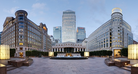 Canary Wharf - Where I'm currently working